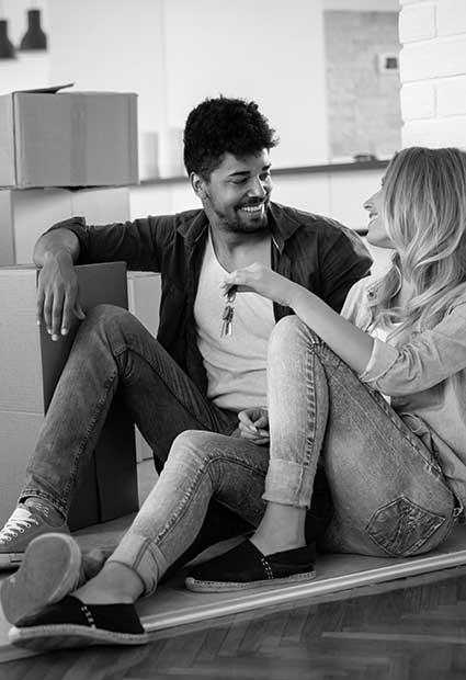 couple-sitting-bw